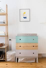 Furniture: White And Gold Ikea Tarva Hacks - DIY Tarva Dresser