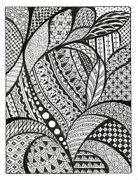 Pattern Drawing Unique Zentangle Patterns Free Similar Galleries Cool Simple Patterns To