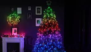 App Controlled Christmas Tree Lights Home Twinkly