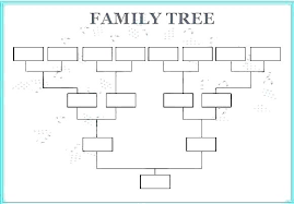 Free Editable Family Tree Template Free Editable Family Tree Template Word Pedigree Chart