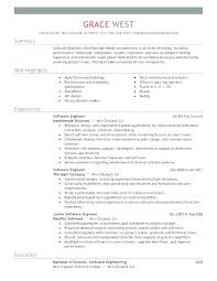 Resume Template Software Software Engineer Resume Examples Software Engineer Resume Samples