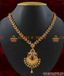 nckn183 gold plated attractive full semi pericious zircon stone peacock design imitation necklace south indian jewelry 700 1 850x1000 jpg