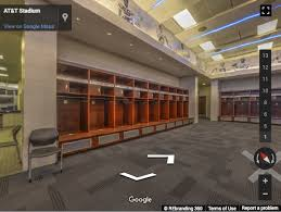 At T Stadium Virtual Tour Rebranding 360