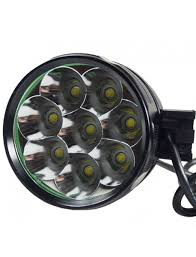 8 x Cree XM-L T6 LED <b>5</b>-<b>Mode Bike Light</b>