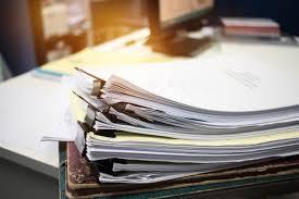 """Résultat de recherche d'images pour """"pile dossier papier"""""""