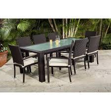 source outdoor patio furniture. Source Outdoor Zen All-Weather Wicker Patio Dining Set - Seats 8 | Hayneedle Furniture I