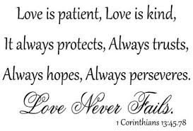 Love Is Patient Love Is Kind Quote Beauteous Love Is Patient Love Is Kind Quote Fascinating Love Is Patient Love
