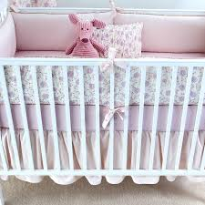 decorating cool nursery crib bedding sets 20 5 pieces set pink white baby sweet per