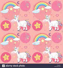 cute unicorn illustration Stock Vector ...