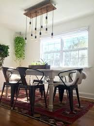 rustic lighting ideas. Rustic Reclaimed Lumber And Vintage Bulb Chandelier Rustic Lighting Ideas