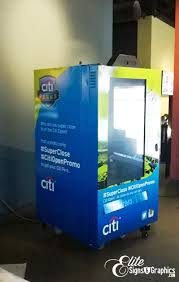 Vending Machines For Sale In Orlando Cool Citi Vending Machine Wrap Orlando Signs