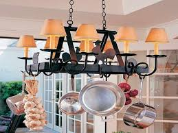 Hanging Kitchen Pot Rack Hanging Hanging Pots And Pans For Extra Storage In A Kitchen Pan