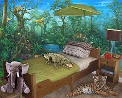 Jungle Themed Bedrooms