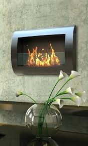 curved electric fireplace elegant design home decor and wall muskoka mount