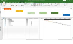 Project Gantt Chart Free Download Free Download Microsoft Project Plan Template Common Systems