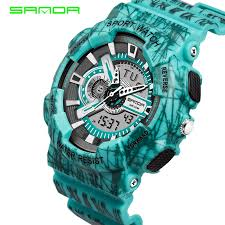 compare prices on men s watch online shopping buy low price men s 30m waterproof mens sports watches relogio masculino 2016 hot men silicone sport watch reloj s shockproof