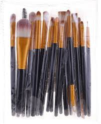 professional makeup brush set 20 pcs