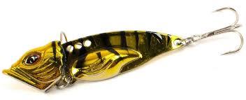 """<b>Блесна Yoshi</b> Onyx """"<b>Yalu Vib</b> Up"""", цвет: золотой, черный, 21 г ..."""