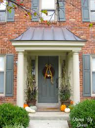 Front Door Decorating Driven By Dccor Decorating My Front Porch For Fall I Love The