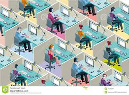 office cubicle clipart.  Clipart Office Cubicles Stock Illustrations U2013 144  Illustrations Vectors U0026 Clipart  Dreamstime Intended Cubicle P