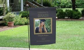 garden flags. GiftsForYouNow.com: One Or Two Personalized Graduation Garden Flags (Up To 73%