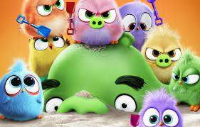 Wallpaper sand, birds, Chicks, pig, The Angry Birds Movie 2 images for  desktop, section фильмы - download