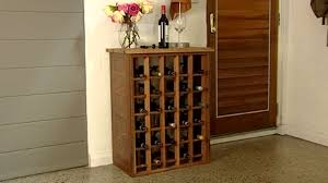build wine rack cabinet