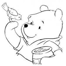 Disegno Di Winnie Pooh E Luccellino Da Colorare Coloring 6