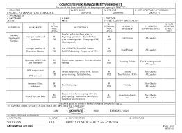 Dd Form 2977 Deliberate Risk Assessment Worksheet Replaced Da Form ...