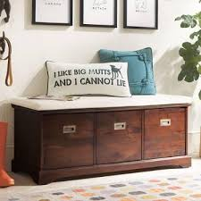 brown storage bench. Simple Bench To Brown Storage Bench