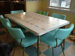 Small Picture Fabulous Vintage Metal Kitchen Table Also Sets Ideas Picture