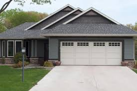 Courtyard collection steel garage door