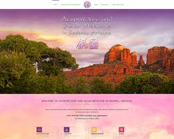 Acupuncture Web Design Before And After Website Redesigns Sedona Seo Web Design