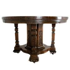 antique oak pedestal dining table single pedestal round oak dining table 1 antique oak pedestal dining
