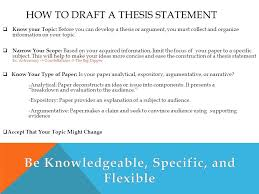 thesis statements what is a thesis statement a thesis statement  how to draft a thesis statement  know your topic before you can develop a