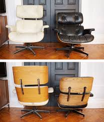authentic eames lounge chair. Frontback Authentic Eames Lounge Chair M