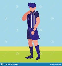 Referee Design Soccer Referee Design Stock Vector Illustration Of Holding