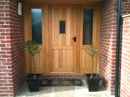 solid wooden front doors solid wood contemporary front doors uk