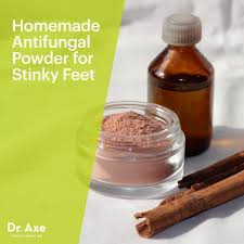 homemade antifungal powder for stinky feet toenail fungus