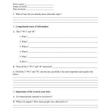 Newspaper Article Template Worksheets Writing Newspaper Article Worksheet Best Awesome Fake Newspaper
