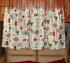 Vintage Style Kitchen Curtains