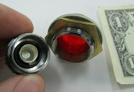 Arcolectric Indicator Lights Warning Lamps Arcolectric Metal Red Panel Mounted Indicator