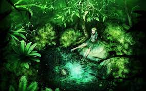 Green Anime Wallpapers - Wallpaper Cave