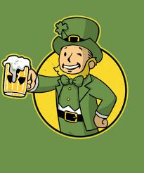 <b>Irish Vault Boy</b> from Qwertee | Day of the Shirt