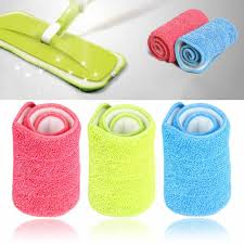 <b>1PC</b> 430*140*20mm <b>Replacement Microfiber mop</b> Washable <b>Mop</b> ...