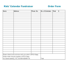 Sponsor Sheets For Fundraising Emailers Co