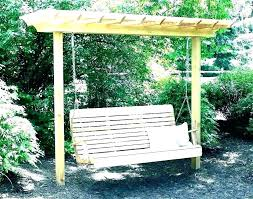 outdoor swing frame design limited wood porch stand swings for s exclusive wooden with chair cushions