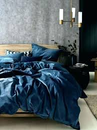queen velvet duvet cover set petroleum blue soft by navy king on beautiful bedroom covers
