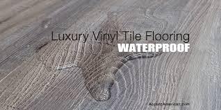 luxury vinyl tile flooring fighting moisture