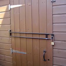 diy door security bar 101 ways to survive